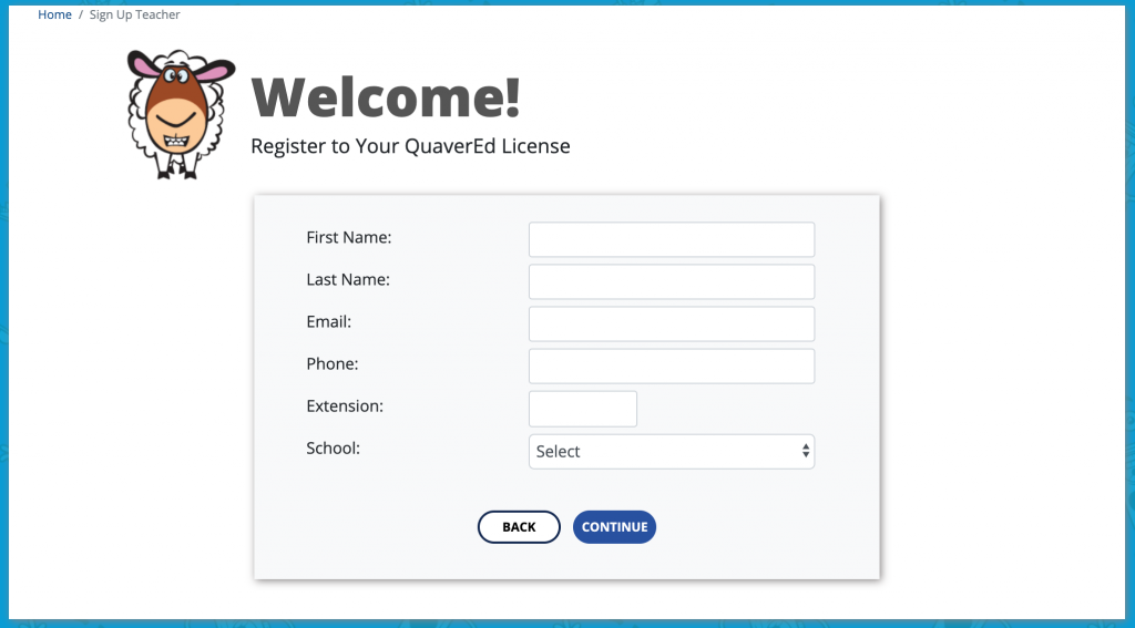 Register Your License